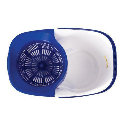 Набор для уборки LAIMA, ведро 18 л/8 л с отжимом и педалью, швабра с круглой (кольцо) и плоской насадкой, 603625